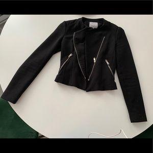 Zara black biker style jacket